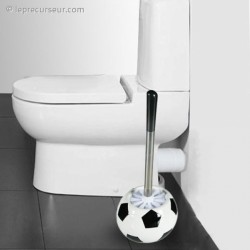 Brosse toilettes pot Football