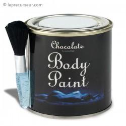 Peinture pour corps goût chocolat