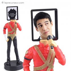 Porte-photo figurine Michael Jackson