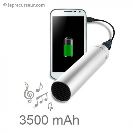Chargeur de batterie USB et haut-parleur
