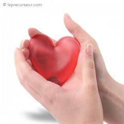 Chaufferette cœur pour mains