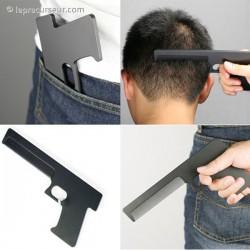 Peigne imitation pistolet