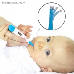 Thermomètre médical flexible numérique