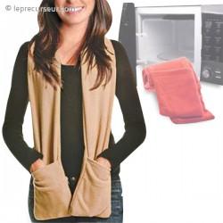 Écharpe à poches chauffante