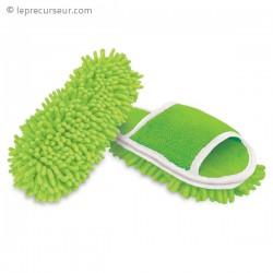 Chaussons ménage patin nettoyant