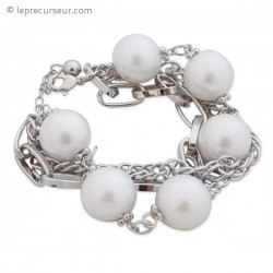 Bracelet aux multiples chaînettes