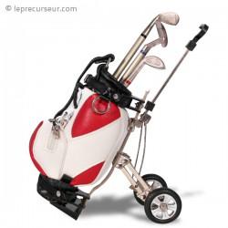 Stylos et sac de golf porte-stylos