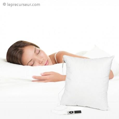 petit oreiller haut parleur. Black Bedroom Furniture Sets. Home Design Ideas
