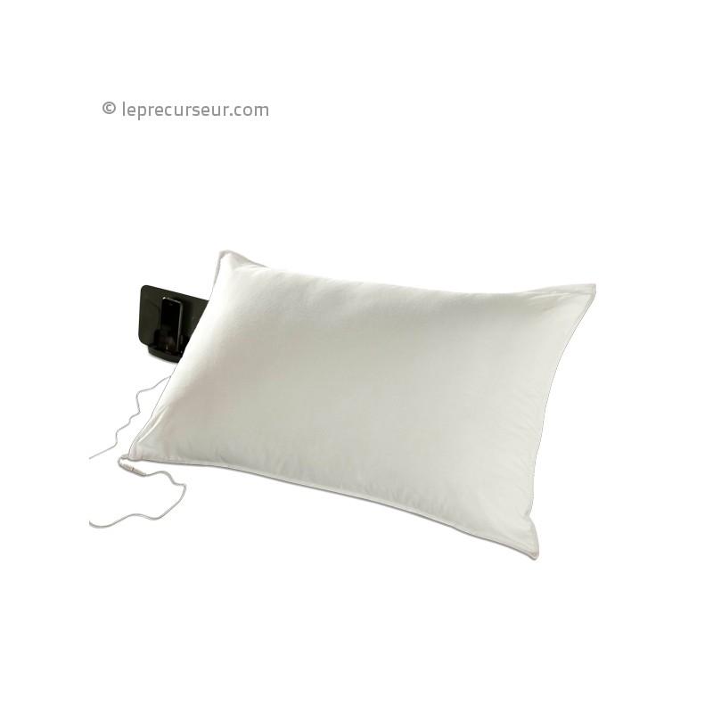 coussin rectangulaire avec haut parleur. Black Bedroom Furniture Sets. Home Design Ideas