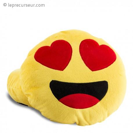 Oreiller smiley amoureux coussin love