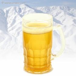 Verre paroi réfrigérante pour bière