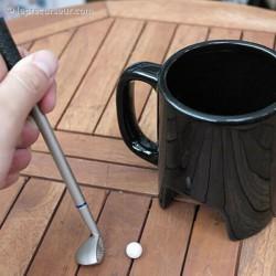 Mug mini-golf en porcelaine