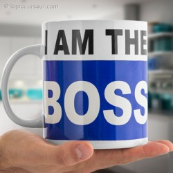 Mug XXL I am the boss 750 ml