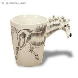 Mug tête de cheval 3D