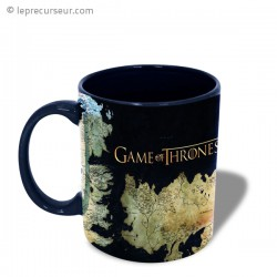 Mug Game of Thrones map