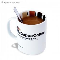 Tasse à café en céramique avec indicateur d'intensité