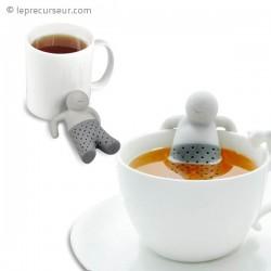 Infuseur de thé bonhomme décontracté