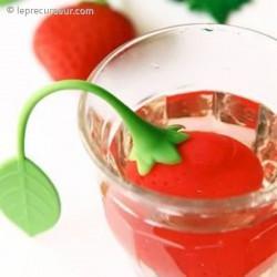 Infuseur de thé fraise